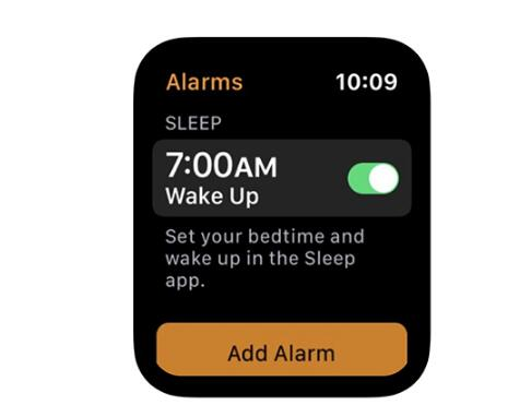 苹果可能仍在使用Apple Watch睡眠功能