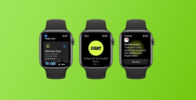 Nike Run Club现在可以作为完全独立的Apple Watch应用程序使用