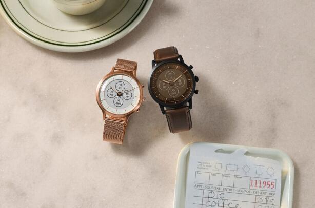 Fossil推出时尚新颖的混合动力智能手表 具有惊人的电池寿命