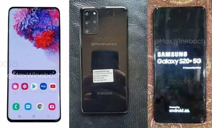 Galaxy S20 +和Galaxy S20 Ultra