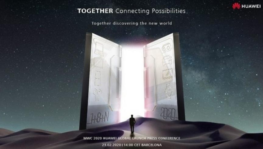 华为Mate Xs可折叠手机预计将在2月23日举行的MWC活动上如期举行