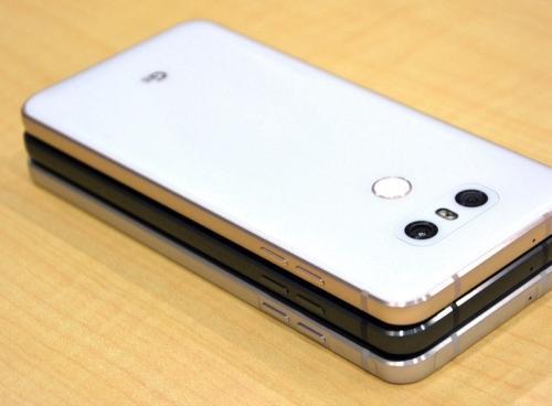 LG G6泄漏显示圆形显示角超薄边框