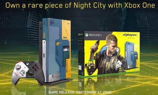 创新科技资讯:微软发布Xbox One X Cyberpunk 2077主机