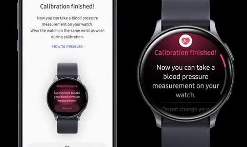 这是你现在可以用三星Galaxy Watch Active 2测量血压的方法