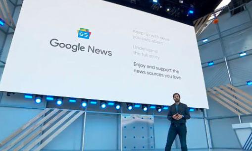 谷歌推动人工智能升级新闻应用