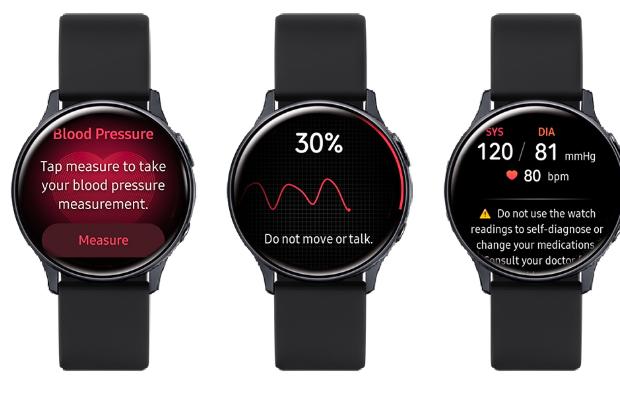 三星将血压监测技术引入Galaxy Watch Active2
