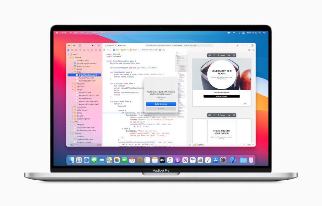 苹果宣布Mac过渡到定制ARM处理器