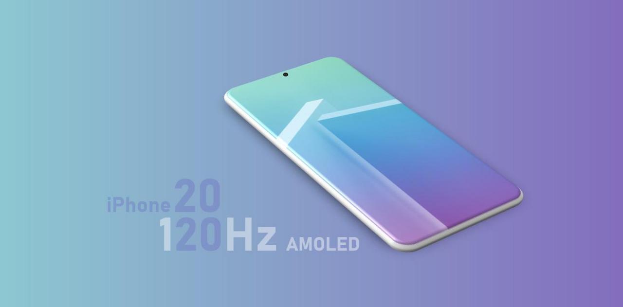 iPhone 12 Pro可能配备120Hz刷新率屏幕