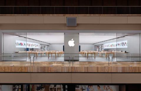 苹果已经关闭了超过25%的美国零售店