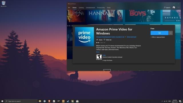 亚马逊的Windows 10 Prime Video应用程序使PC可以离线观看