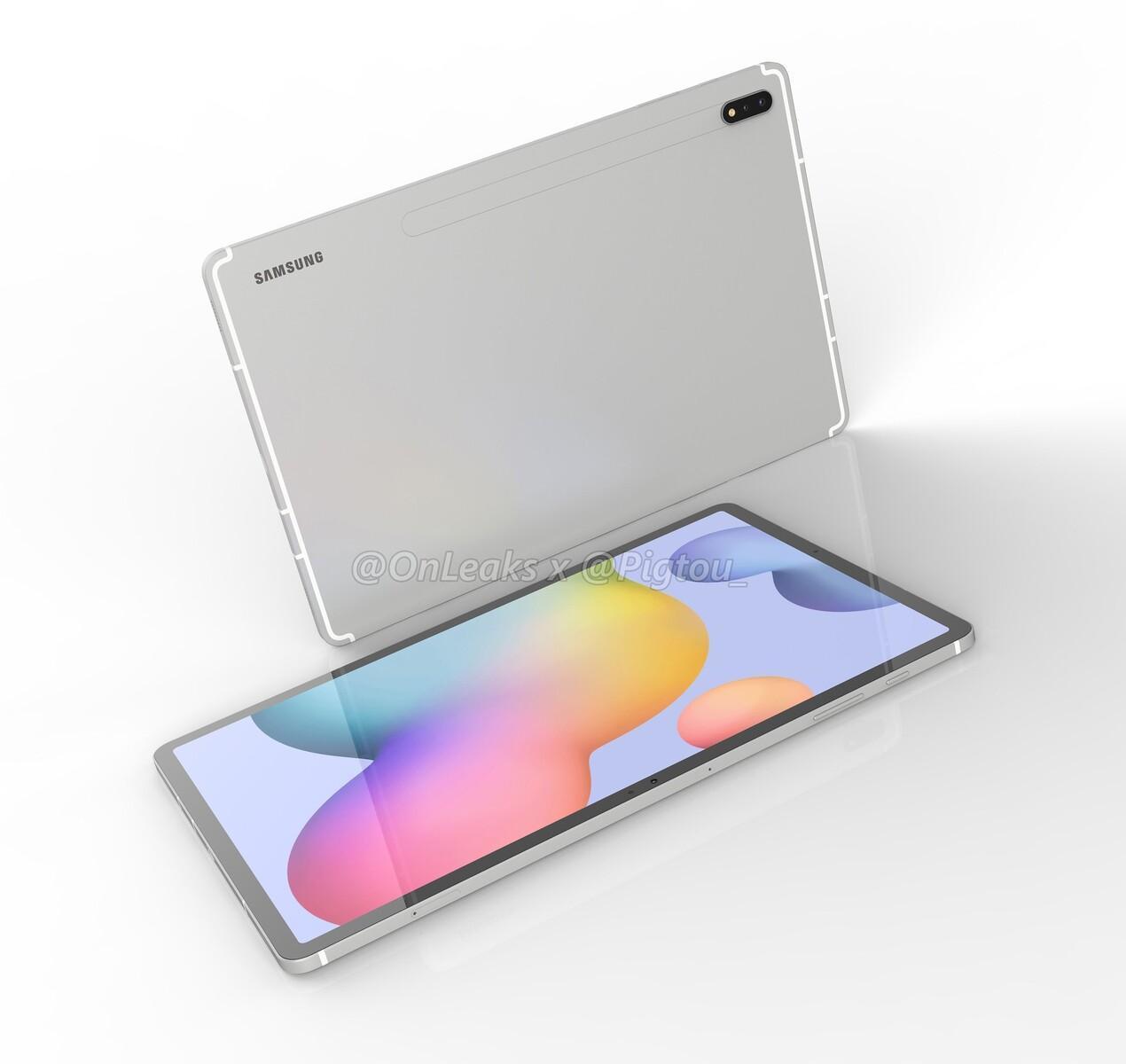 三星德国确认Galaxy Tab S7 +的5G版本;15 W充电器可用于10,000 mAh平板电脑