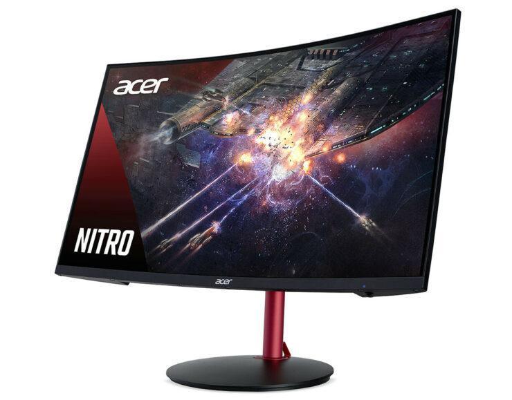 宏cer宣布Nitro XZ2系列在曲面显示器上具有HDR和FreeSync功能