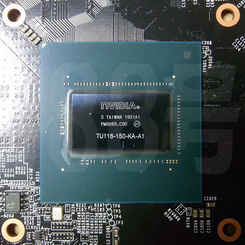 带有TU116-1GPU的NVIDIA GeForce GTX 1650显卡板载Turing NVENC和GDDR6