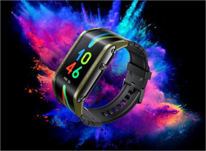 带有4.01英寸柔性AMOLED屏幕的Nubia Watch,已推出eSIM支持