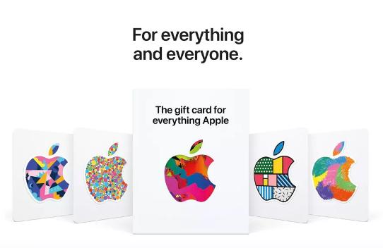 苹果新的通用礼品卡