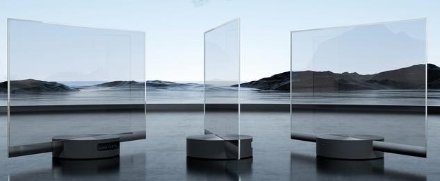 小米宣布Mi TV Lux OLED透明电视