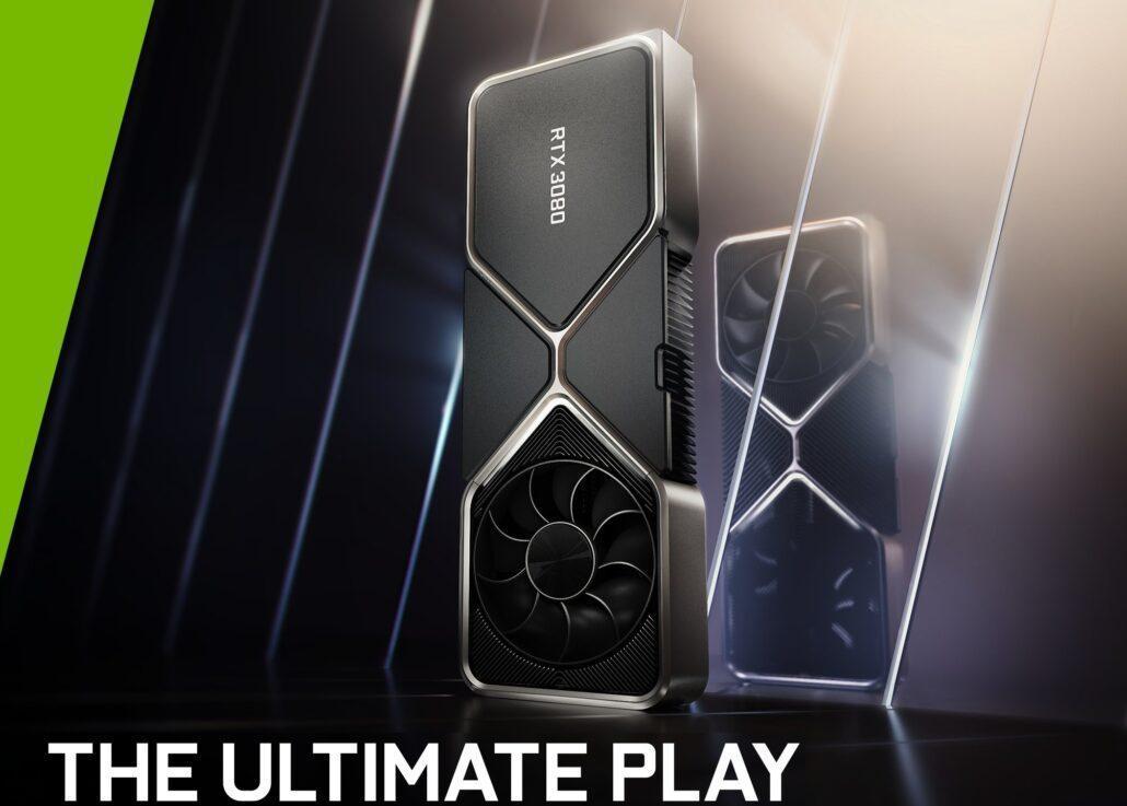 英伟达RTX 3080在4K分辨率下可提供高达100 FPS的多个AAA游戏
