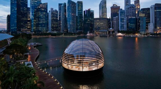 Apple的Marina Bay Sands商店将于2020年9月10日正式开业