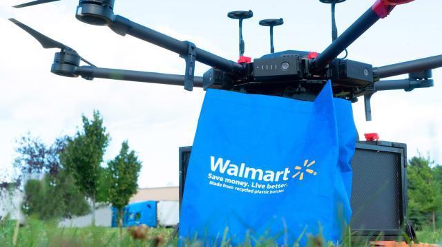 沃尔玛在北卡罗来纳州启动无人机交付计划