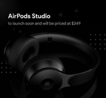 AirPods Studio泄漏了这是第一次出现