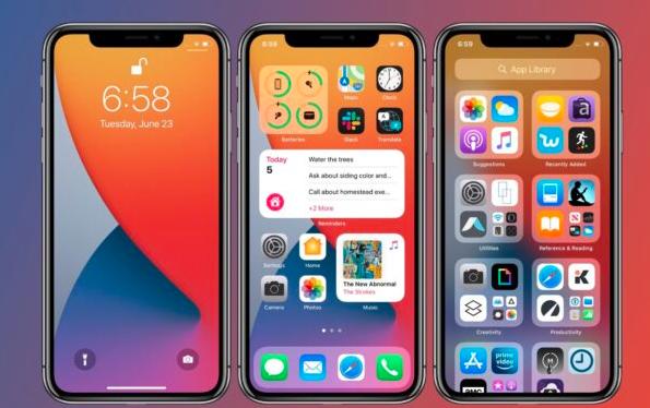 iOS 14更新发布具有全新功能