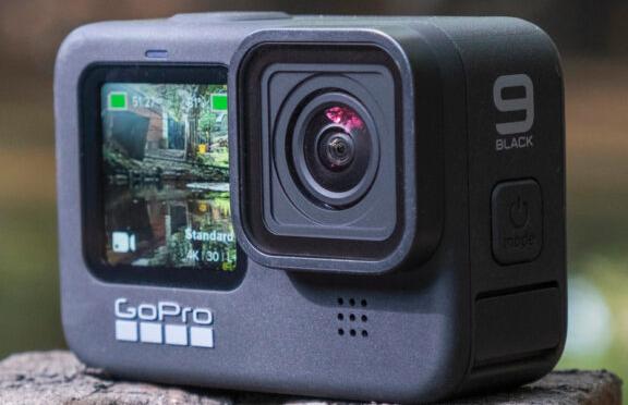 运动相机GoPro Hero 9 Black支持5K录制