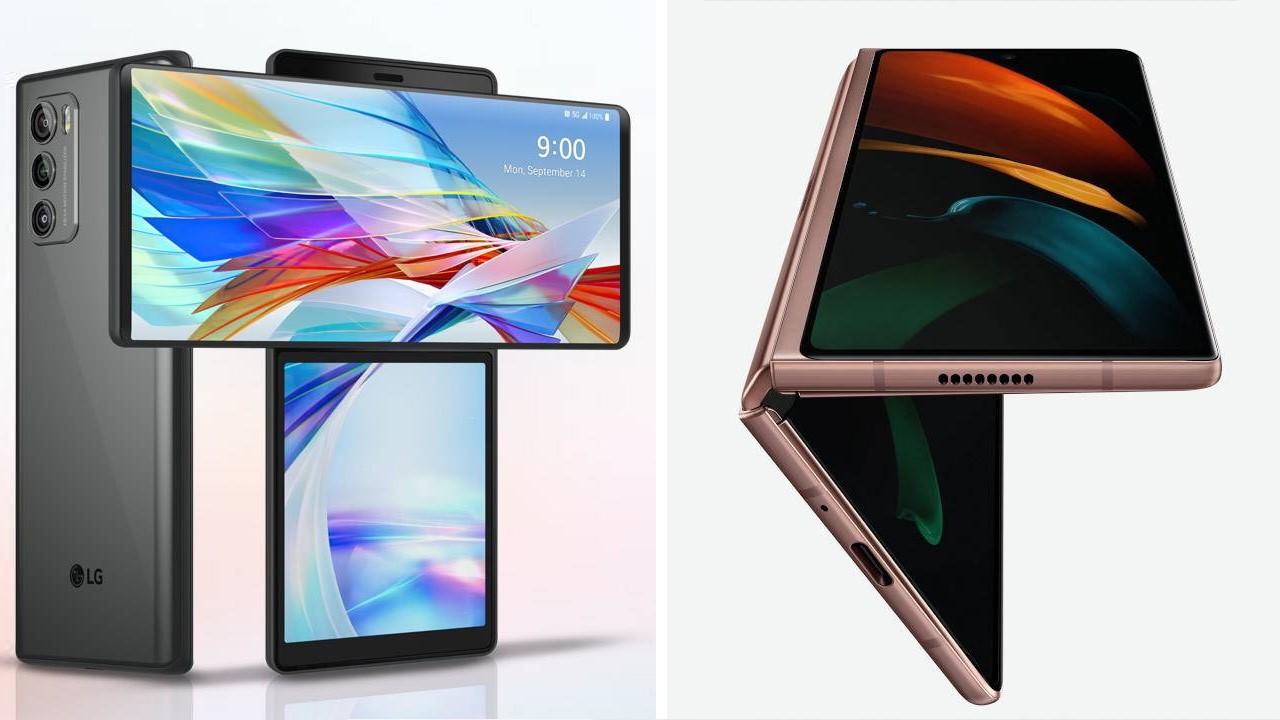 LG Wing 5G和Galaxy Z Fold2 5G:您应该旋转还是继续折叠