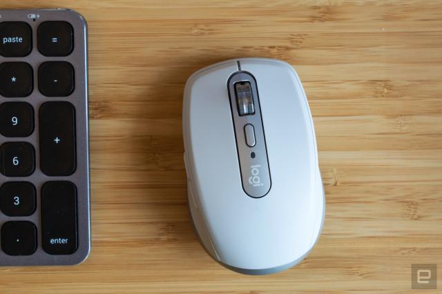 罗技新的MX Anywhere 3鼠标具有用于控制Zoom调用的按钮