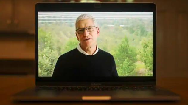 苹果公司首席执行官蒂姆·库克(Tim Cook)说,员工的远程操作能力给他留下了深刻的印象