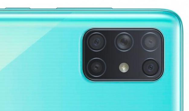 三星首款带有五个后置摄像头的手机即将问世