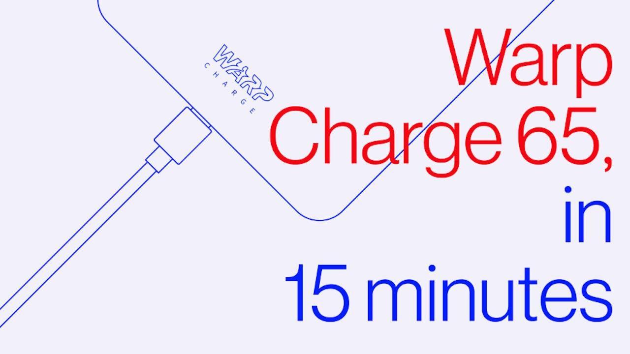 OnePlus 8T Warp Charge 65承诺在39分钟内充满电
