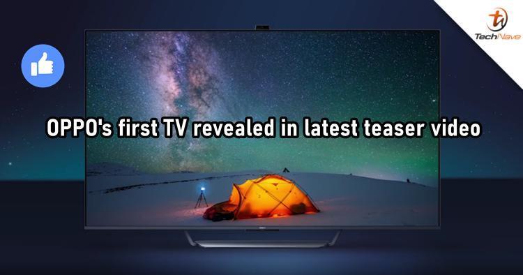 OPPO的第一台具有弹出式摄像头的电视