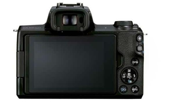 带有更新的自动对焦系统的佳能EOS M50 Mark II