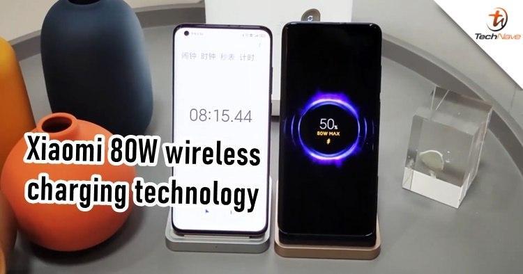 小米最新的80W无线充电技术在正式发布之前就已亮相