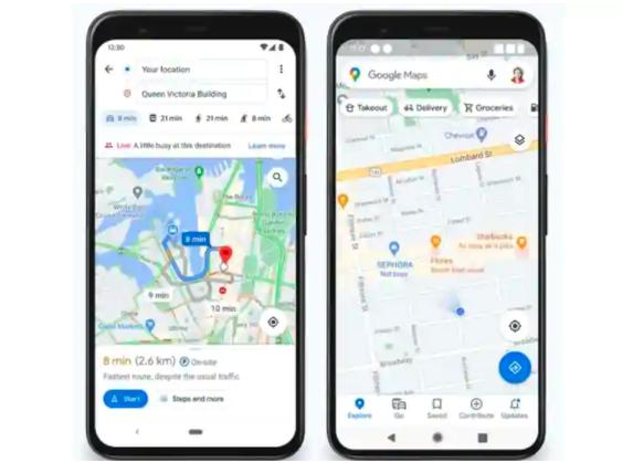 Google地图很快就会显示一个地点在地图上的繁忙程度