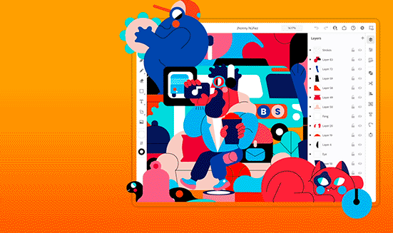 Adobe已发布iPad版Illustrator软件