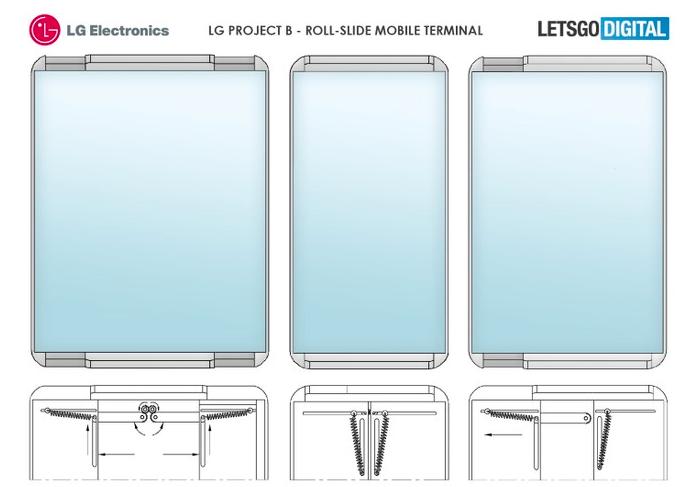 LG申请可伸缩屏幕专利将手机转变为平板电脑