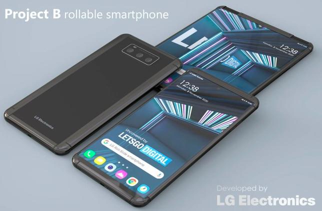 LG申请可伸缩屏幕专利,将手机转变为平板电脑
