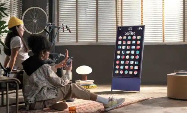 三星在亚洲市场推出The Sero旋转智能电视