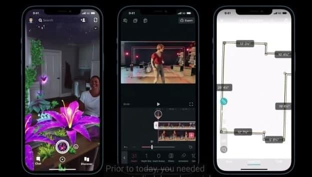 iPhone12promax激光雷达有什么用