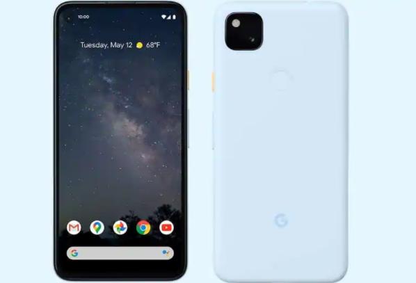 Google Pixel 4a提供了一种新的淡蓝色