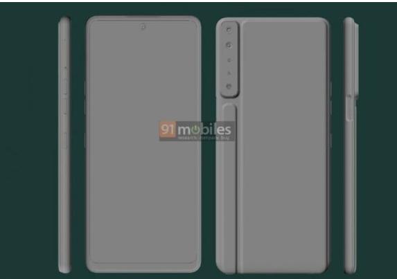 LG Stylo 7图片展示了不同的后面板设计