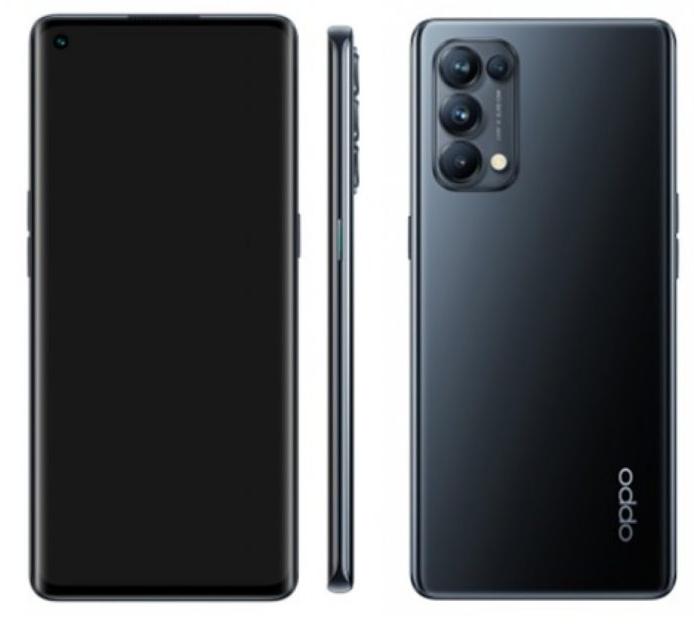 Oppo Reno 5 4G搭载高通Snapdragon 720G
