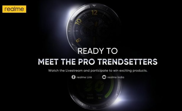 Realme Watch S Pro的首次官方提示