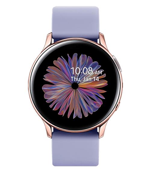三星推出玫瑰金版Galaxy Watch Active2