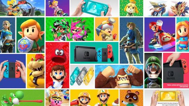 任天堂宣布2021年Nintendo Switch游戏
