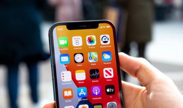 苹果泄漏的iPhone 13玻璃面板图片