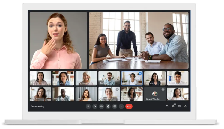 Google Meet获得重新设计,数据保护器选项以及更多功能