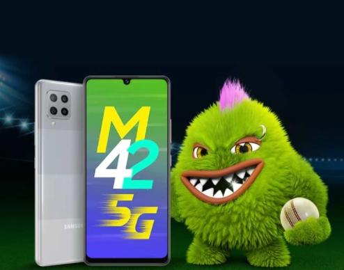三星Galaxy M42 5G将配备6GB RAM和开箱即用的Android 11
