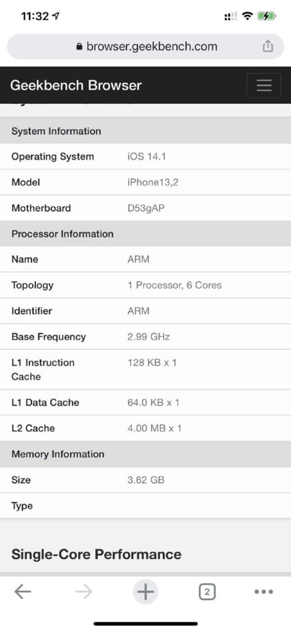 苹果12是8g运行吗